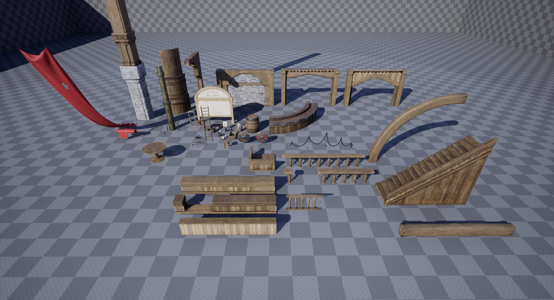 Overview of the props