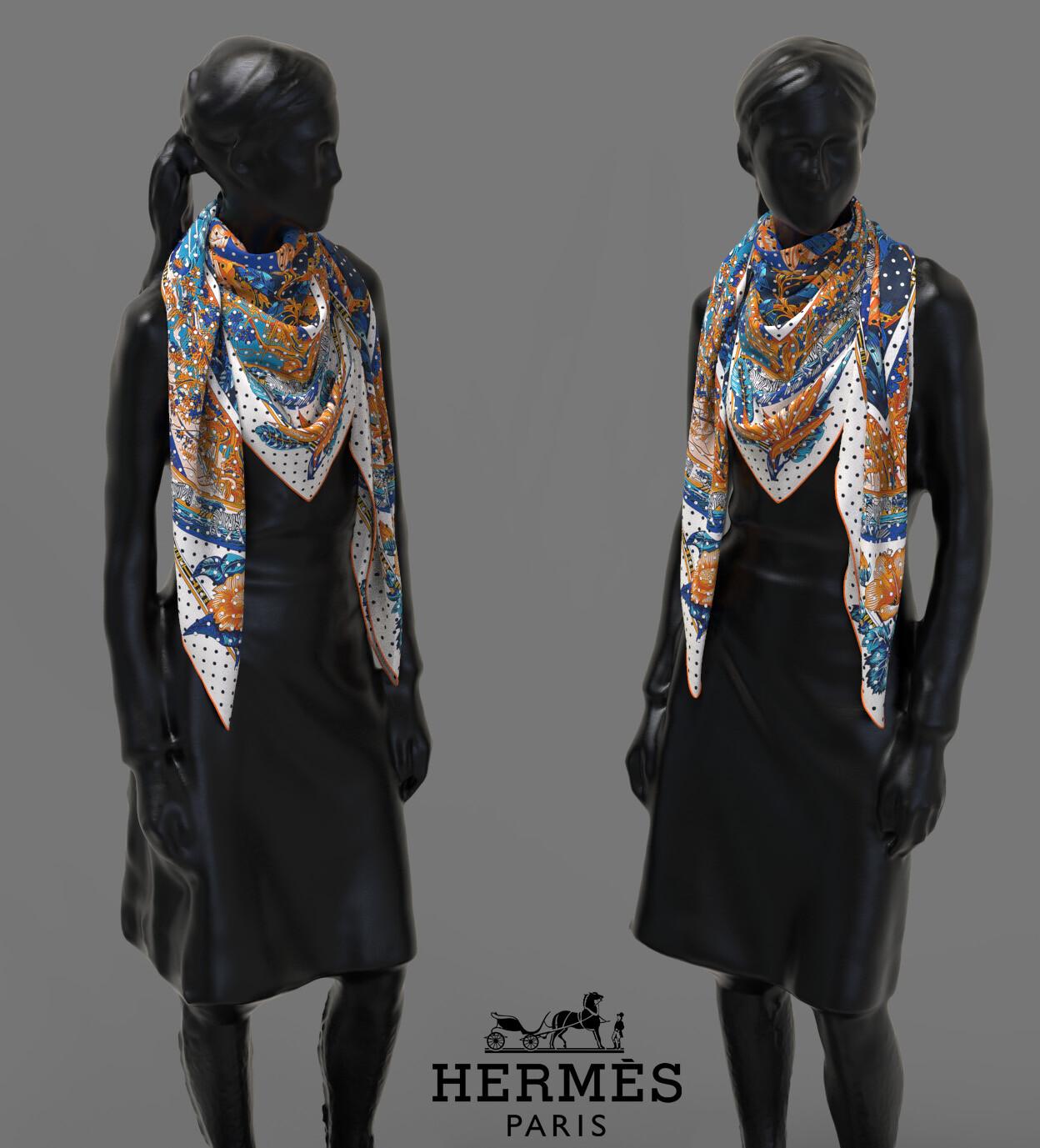 Clement bassery foulard3