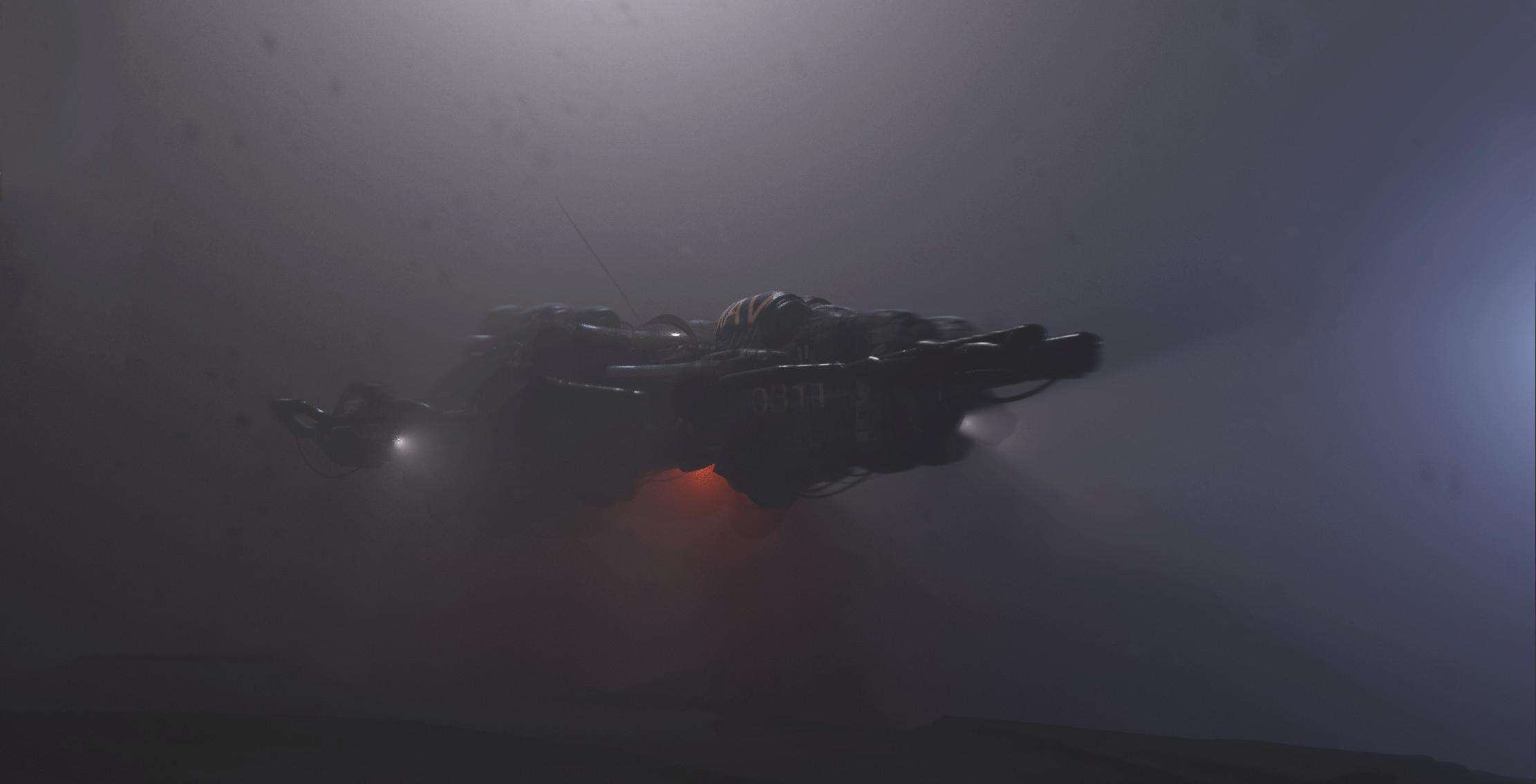 Ship sketch - Scout 0311