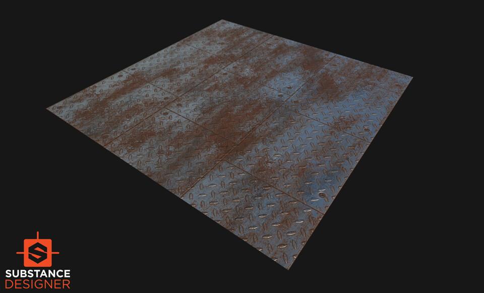 Pallavi maruvada rustymetal diamondcut floor 03