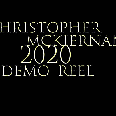 Christopher mckiernan christopher mckiernan 2020 demo reel video icon