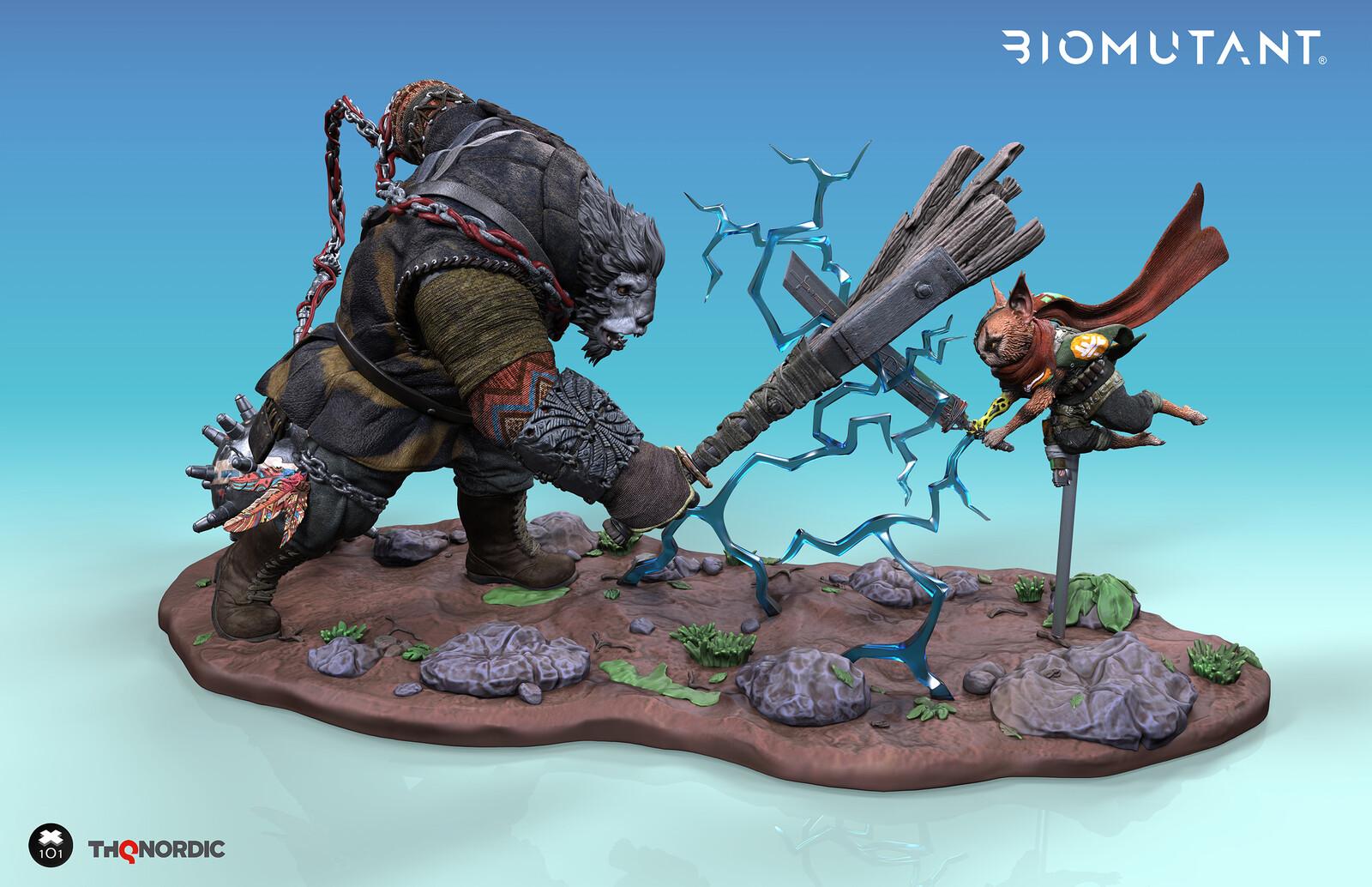 Biomutant Figurines