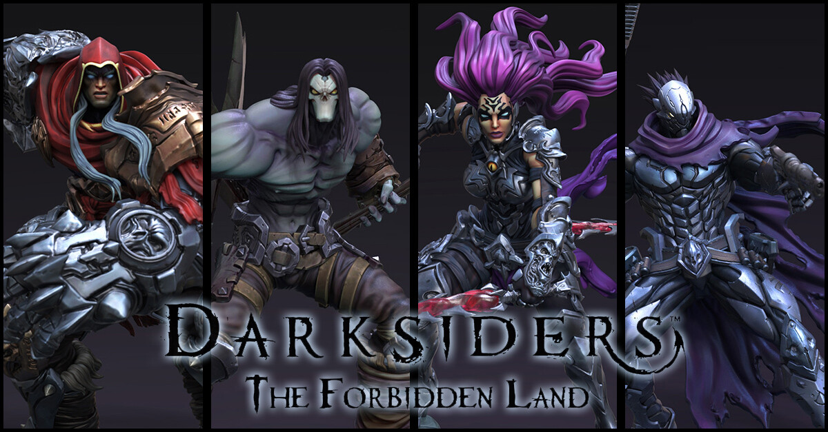 Darksiders: The Forbidden Lands (Horsemen)
