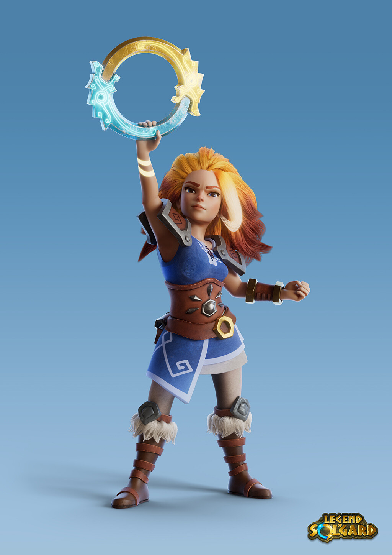 Legend of Solgard - Embla and Mani