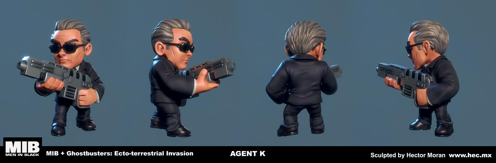 Hector moran hec agent k shots