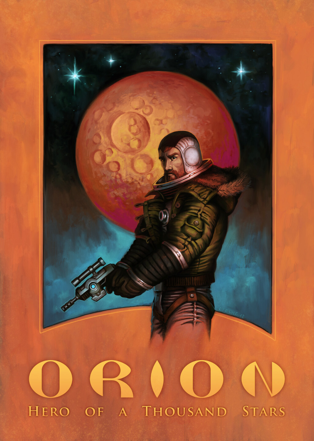 """Captain Orion Poster"" - 2012"