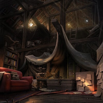 Daniel lieske attic