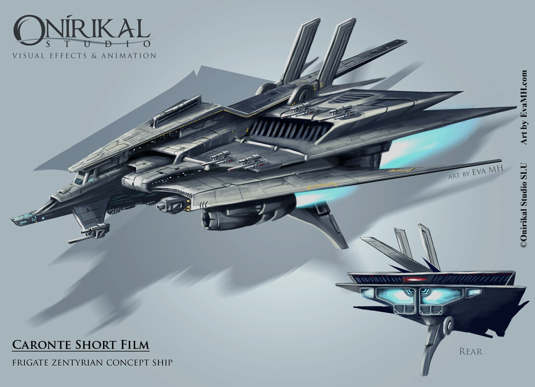 CaronteShort ship concept art