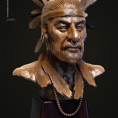 Surajit sen sardar digital sculpture surajit sen jan2020a