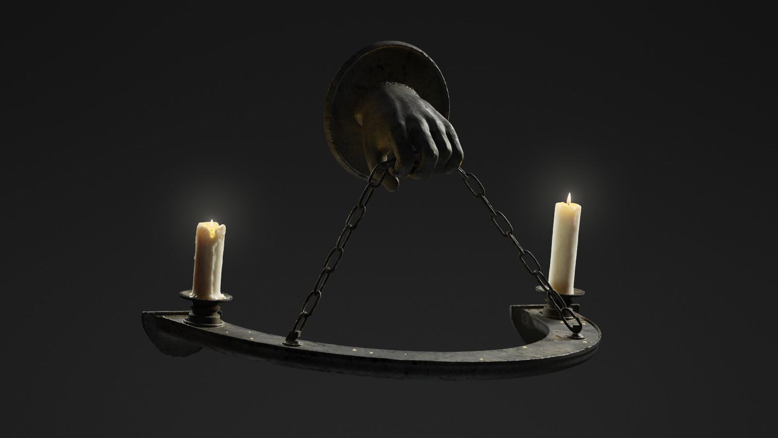 Medieval Candle Holder