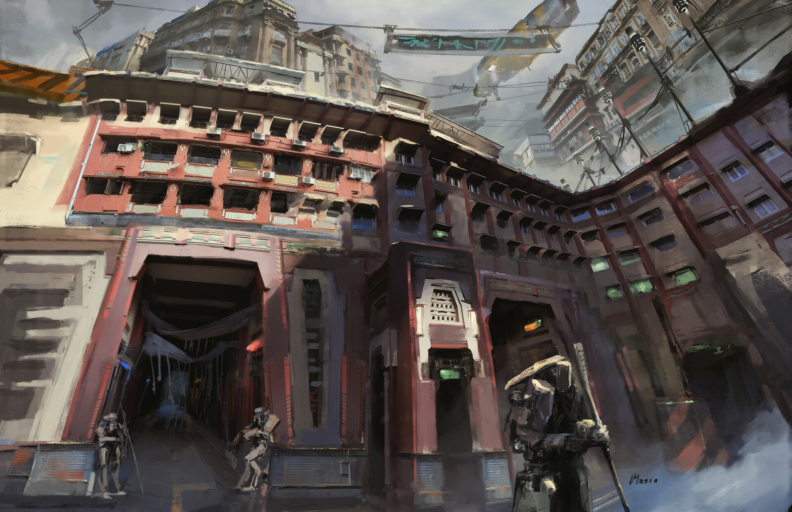 Robot City: Environment