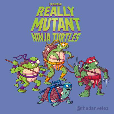 Dan velez teenage really mutant ninja turtles v02