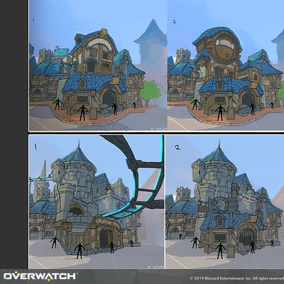 Domen kozelj overwatch blizzardworld concept aquatic moon0