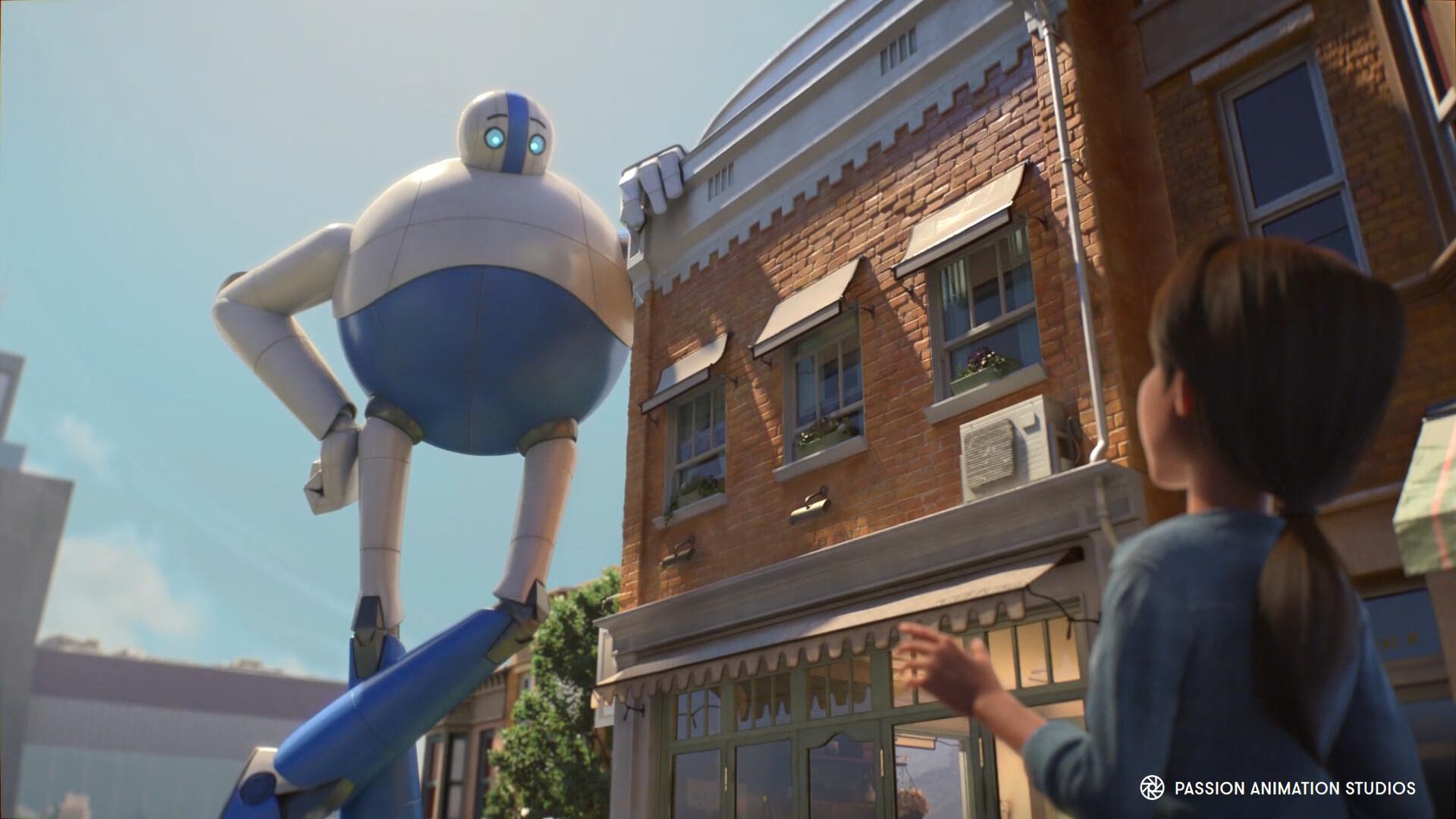 Giant robot modeling
