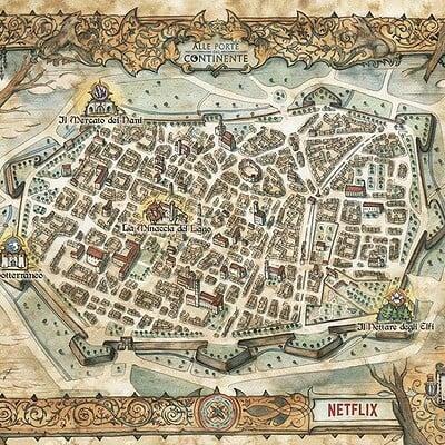 Francesca baerald fbaerald thewitcherlucca2019 map