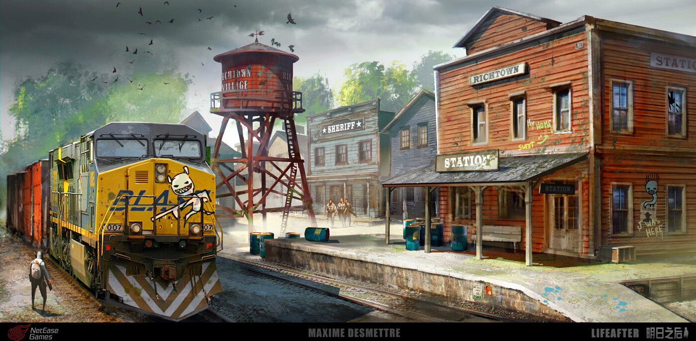 Life After - Western Town Station
