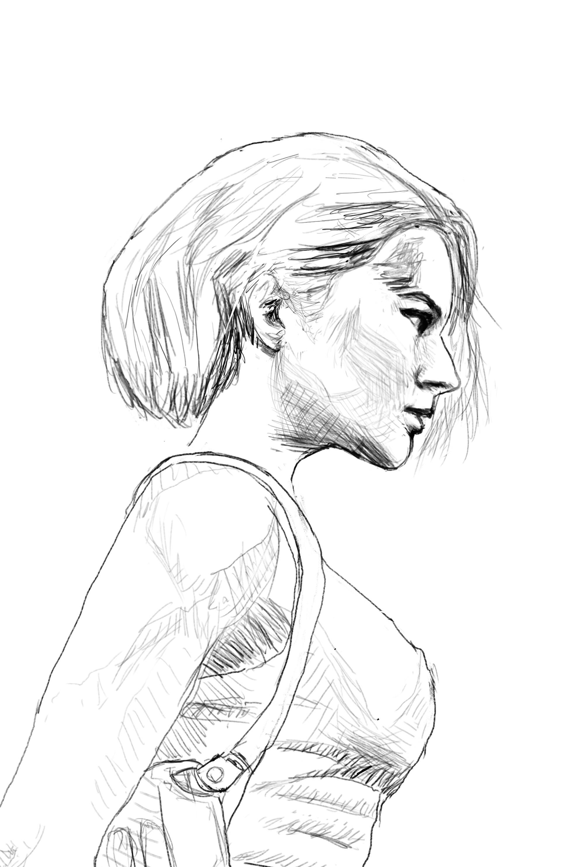 Joshua Aaron Wilson Jill Valentine Portrait Cover Resident Evil