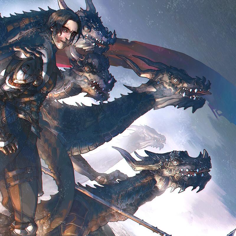 'draken son' illustration