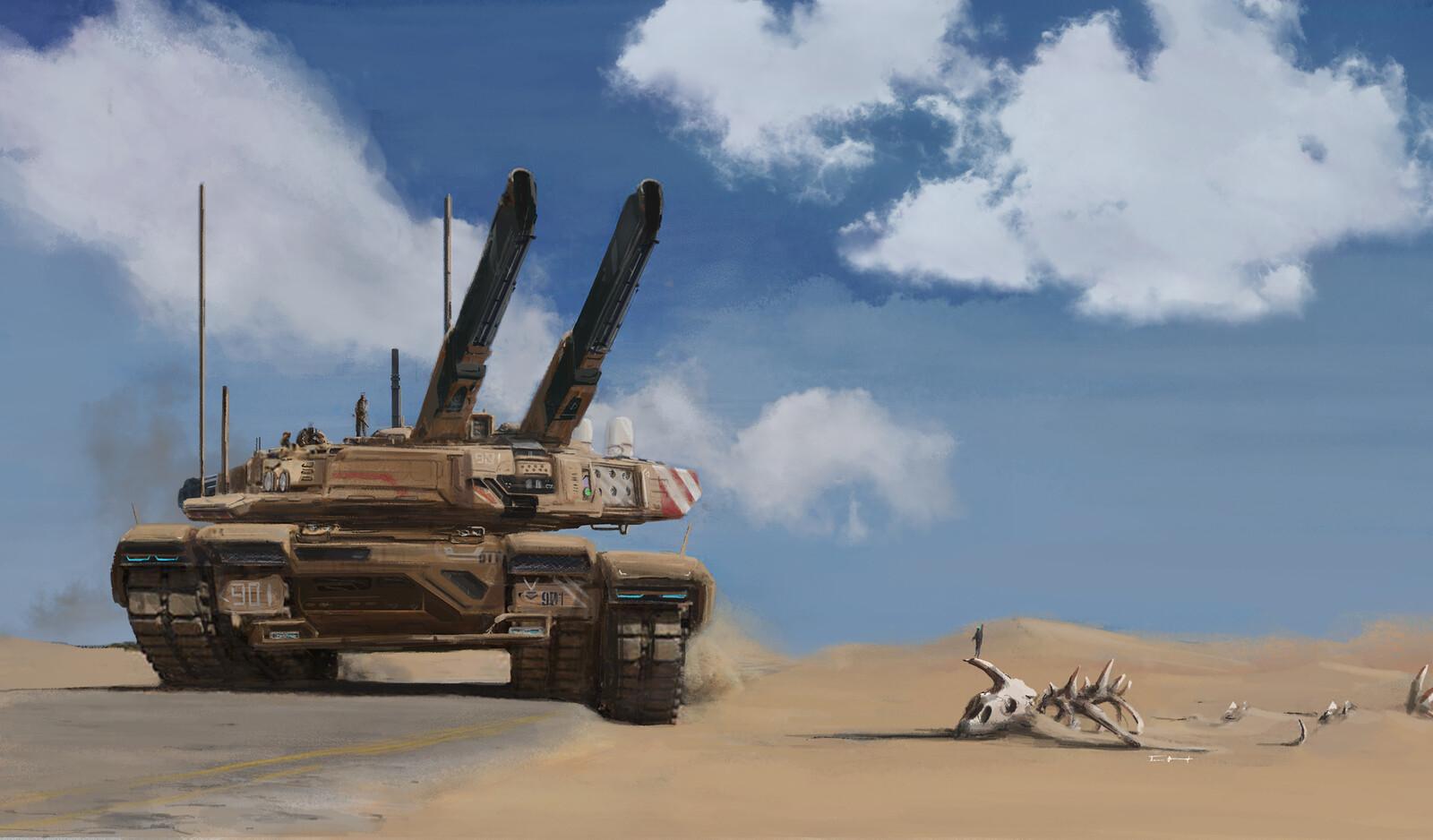 N.O.A Tank
