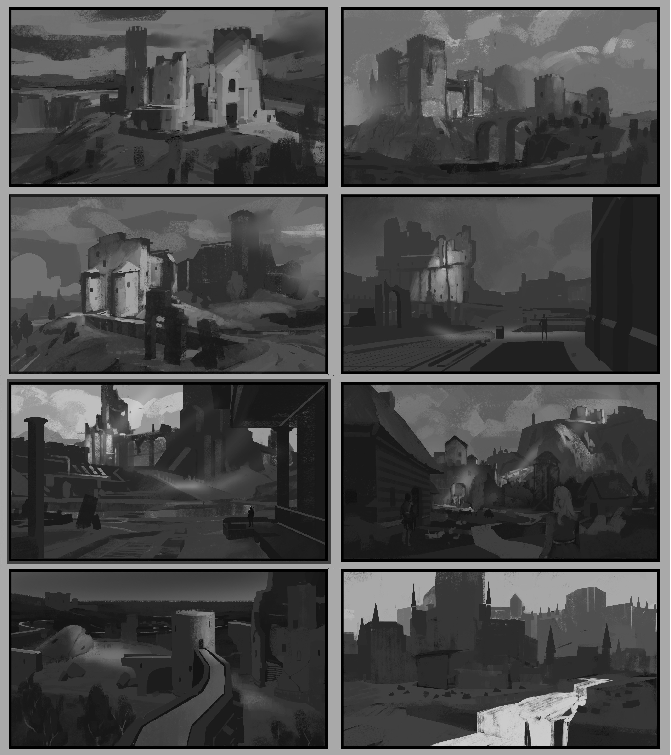 composition explorations from imagination