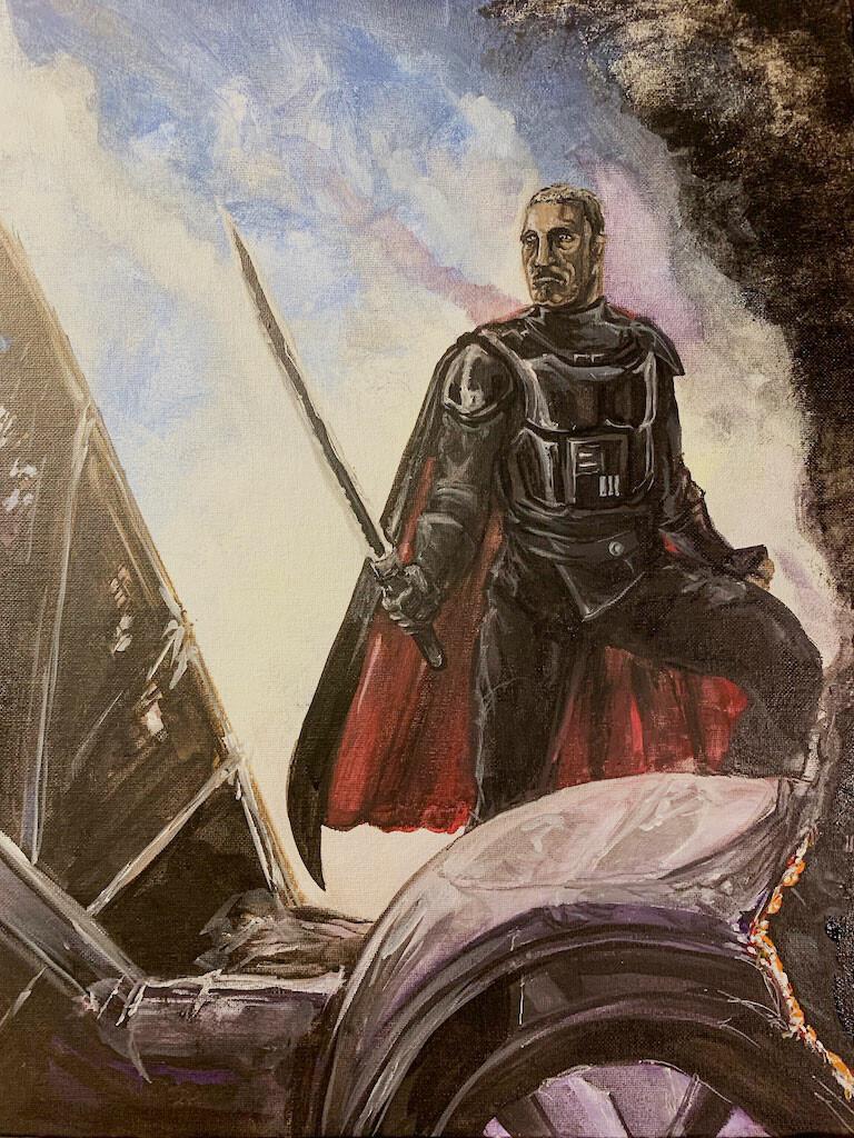 PROCESS: ONE VIEW Moff Gideon - Darksaber The Mandalorian