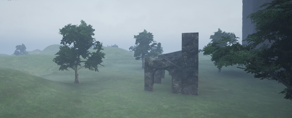 UE4 scene setup. Assets created with 3DS Max,ZBrush,Substance Painter, Substance Designer and SpeedTree.