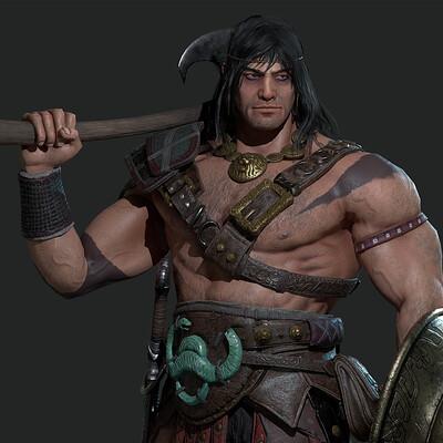 Julio cesar espada conan 1