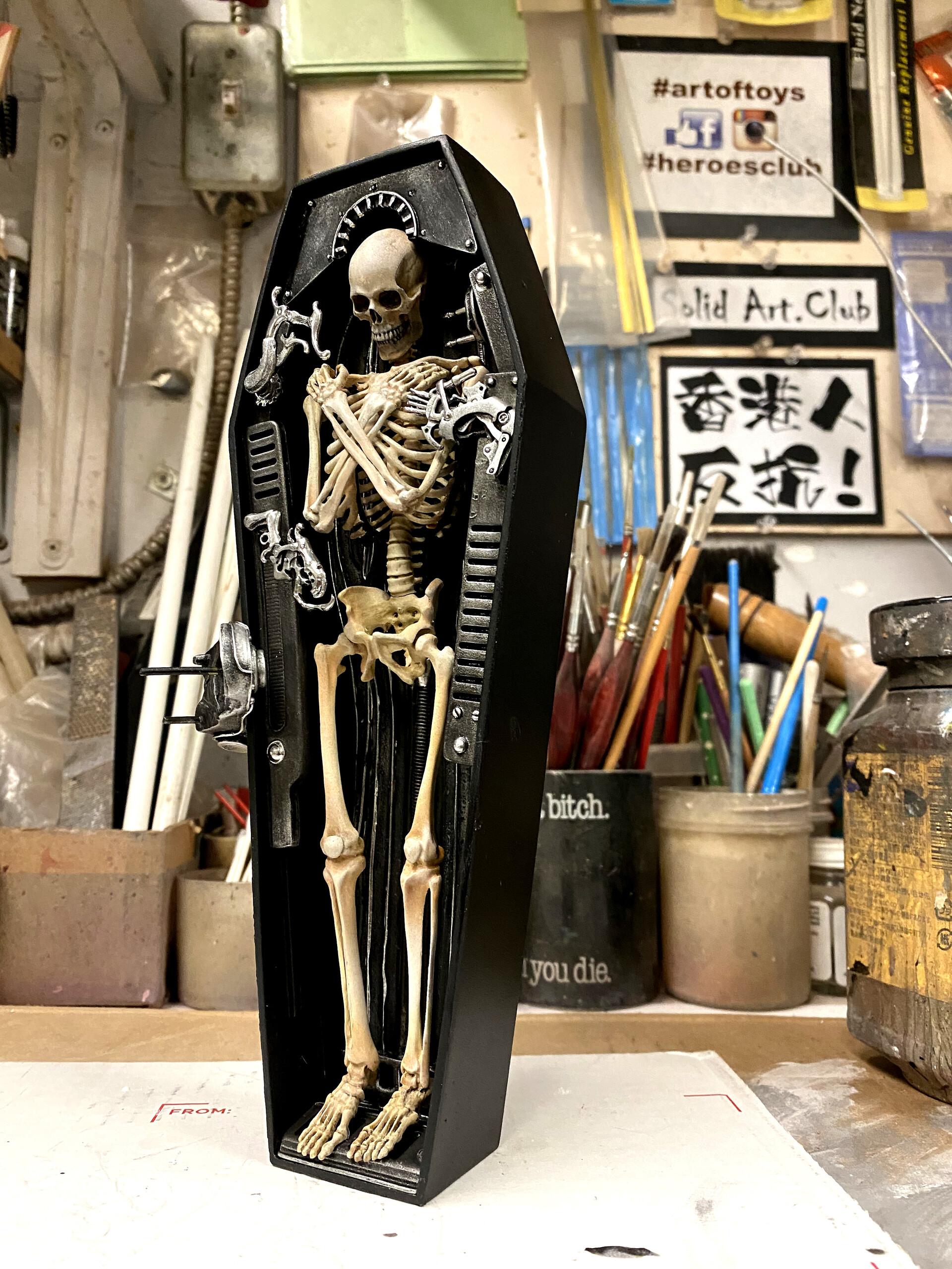 Punishment Sodo Coffin 制作中