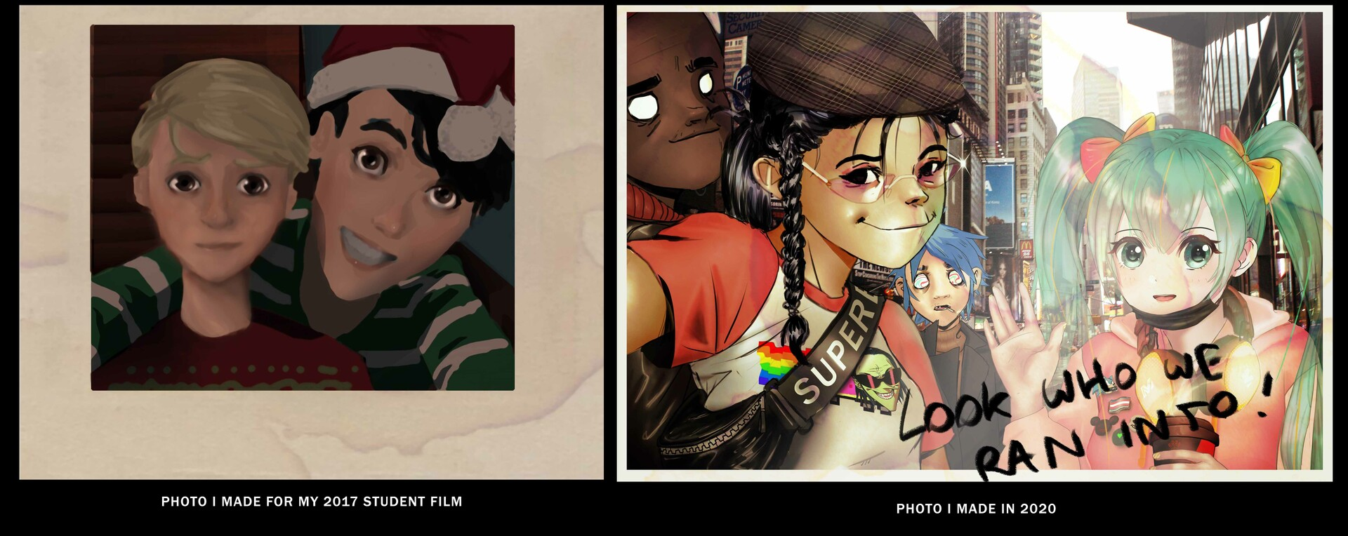 Not Gorillaz related but for me..