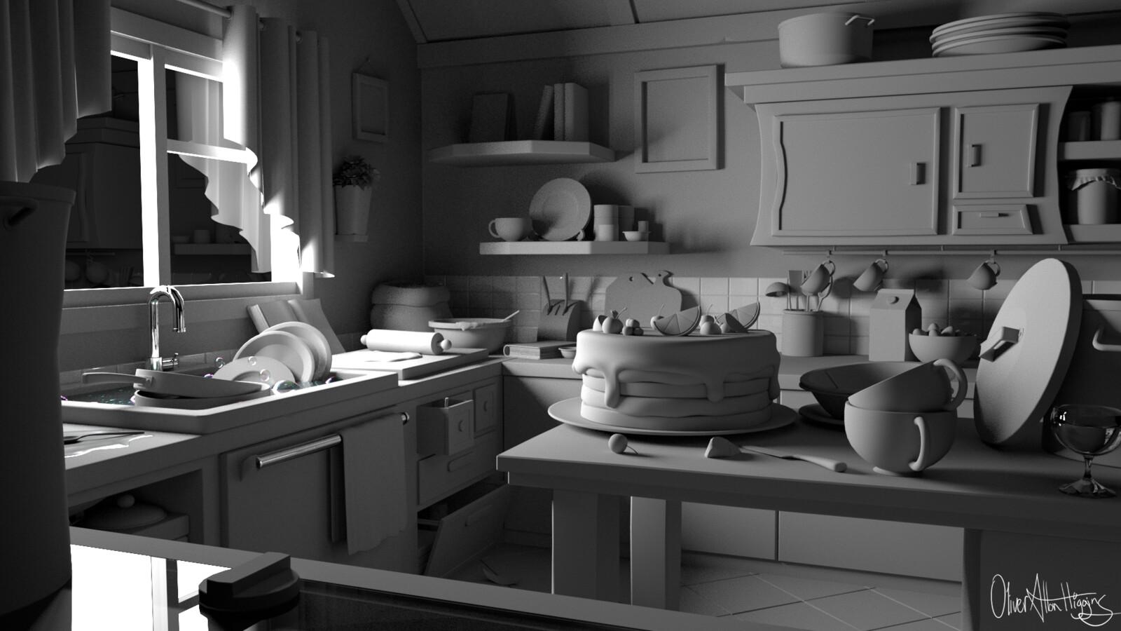 Kitchen - WIP