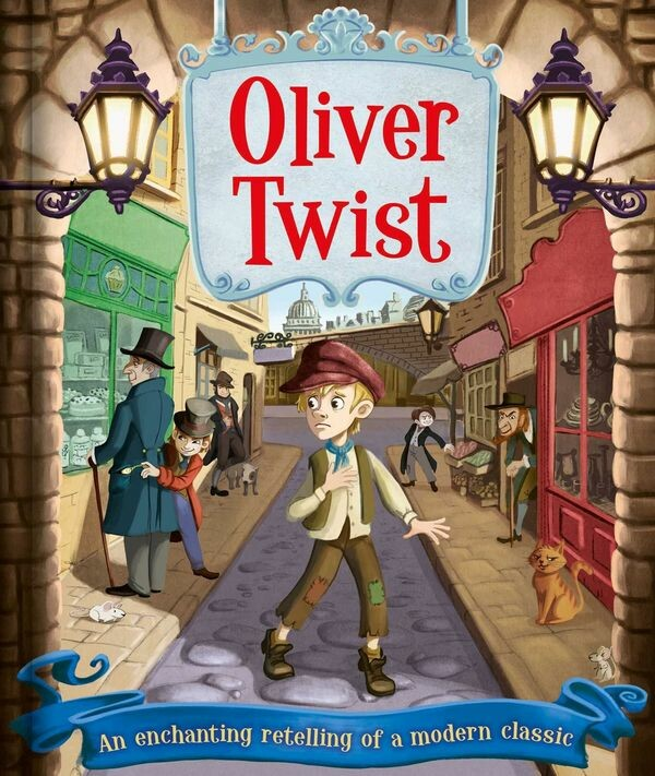 """An enchanting retelling of a modern classics! """"Oliver Twist"""" Author: Charles Dickens Illustrator: Eva Morales Publisher: Igloo Books (2018) ISBN-10: 1499880898 ISBN-13: 978-1499880892"""