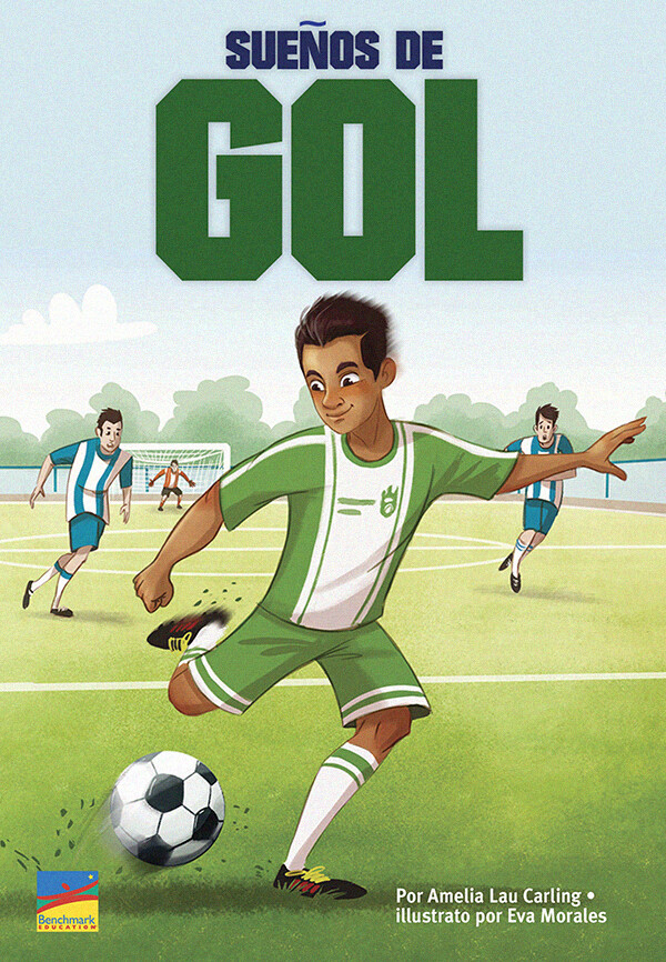"""Sueños de gol"" by ©Benchmark Education