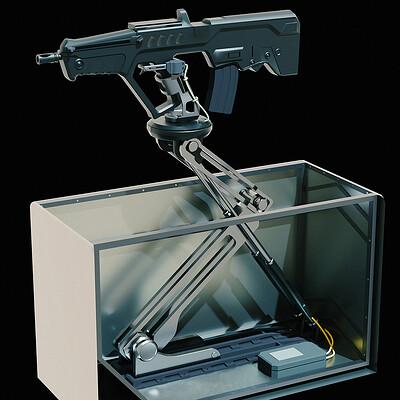 Lorenz hideyoshi ruwwe gun box mechanism s