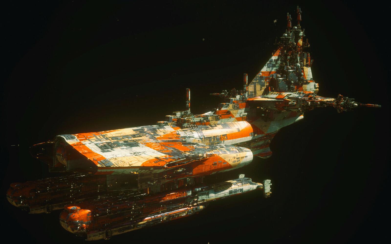Manta Shuttle Carrier