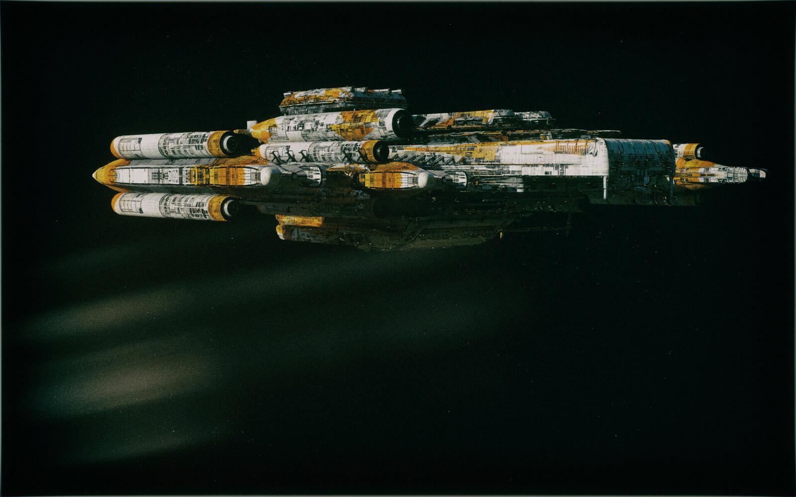 Katyusha Rocket Barge
