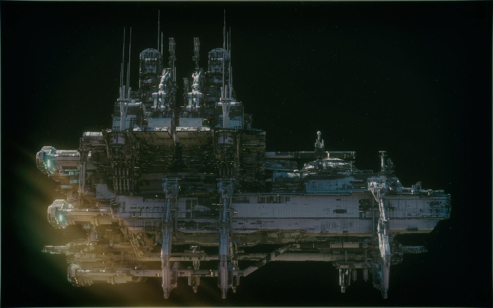 Gaspar Ruiz Colony Ship