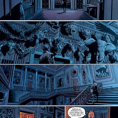 Piotr kowalski featured wellington lore comic book 5