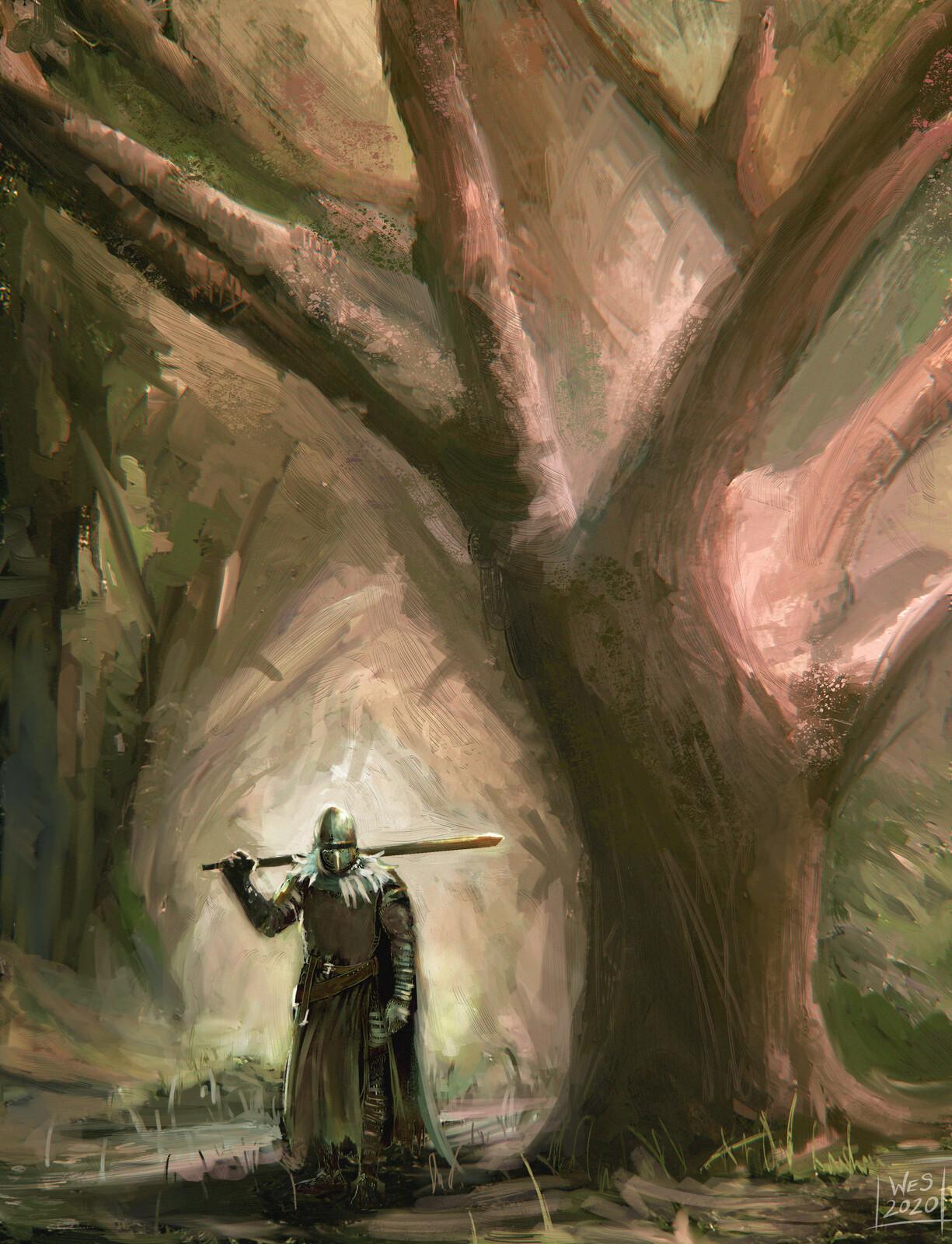 Dark Souls II Fan Art - Forest Of Fallen Giants