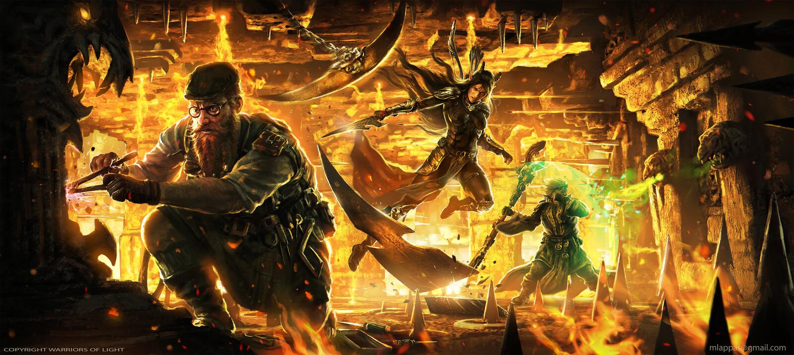 Heroes Vs Traps-Warriors of Light