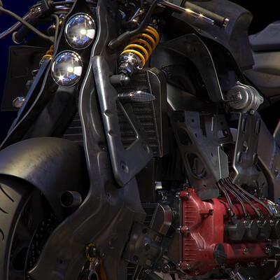 Ying te lien 0112 concept bike