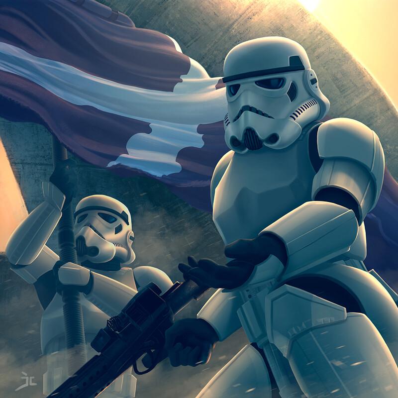 Stormtroopers Santa Cruz