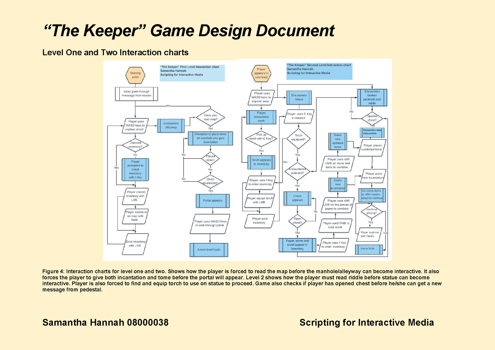 Game Design Document Page 8