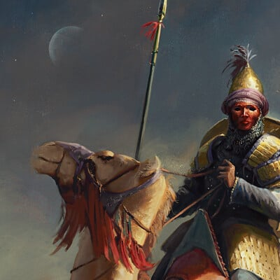 Maciej laszkiewicz immortals cavalry