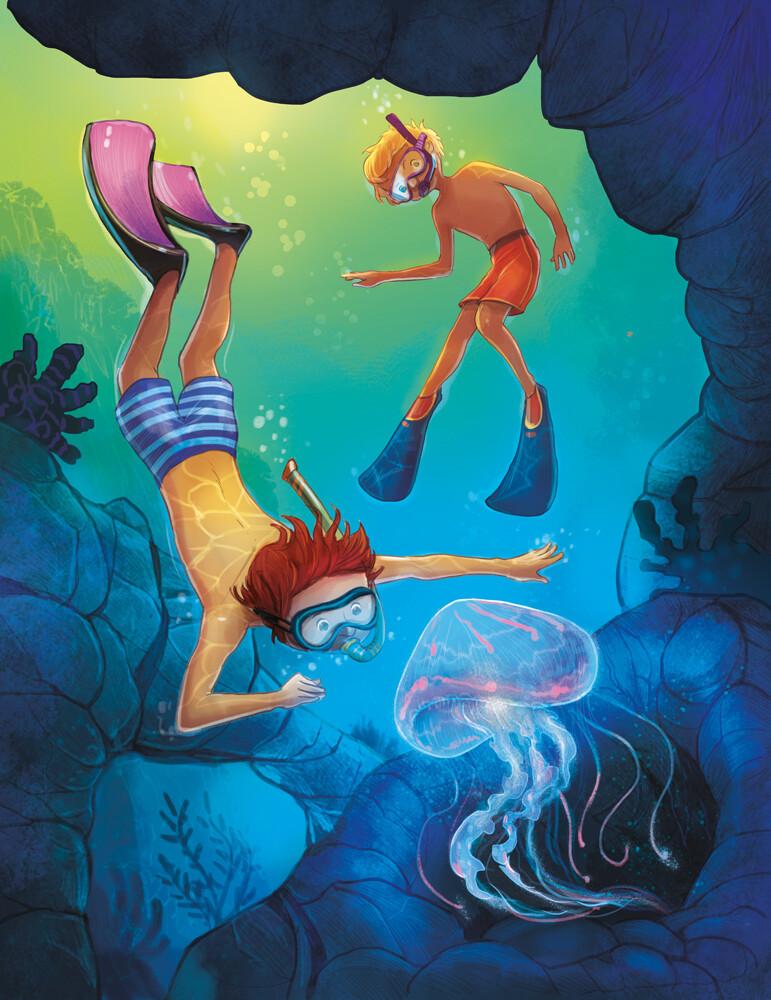 #underwater #childrenbookillsutration #ilustracjadladzieci