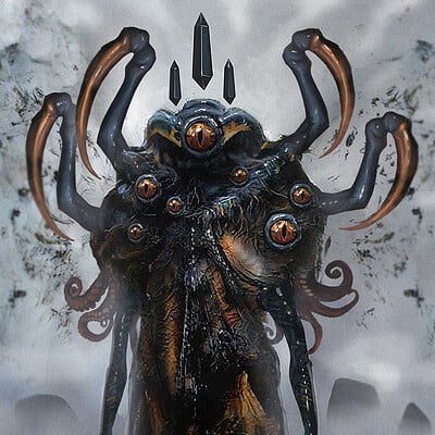 Travis lacey cthulu art concept travis lacey monster