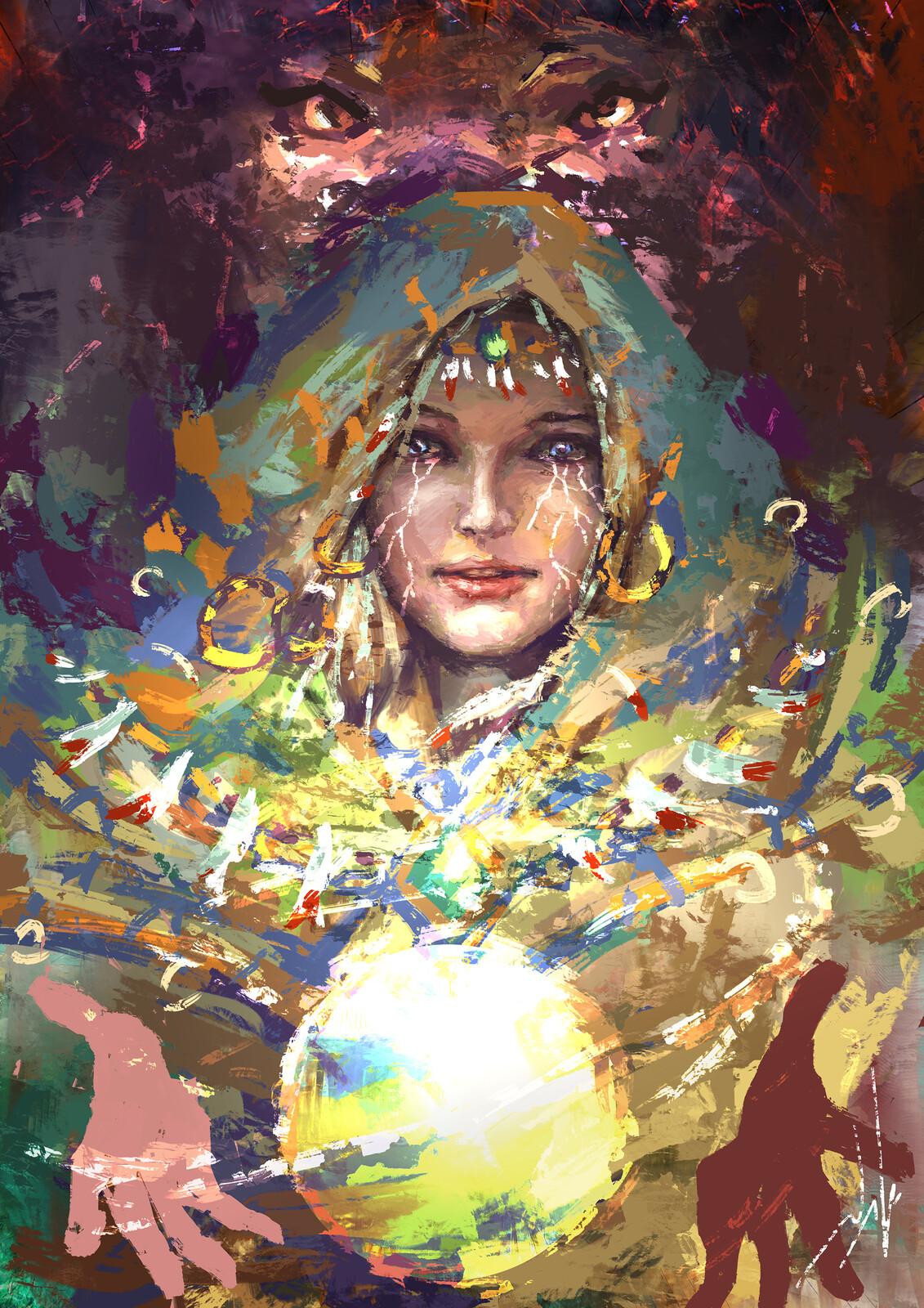 Sorceress...