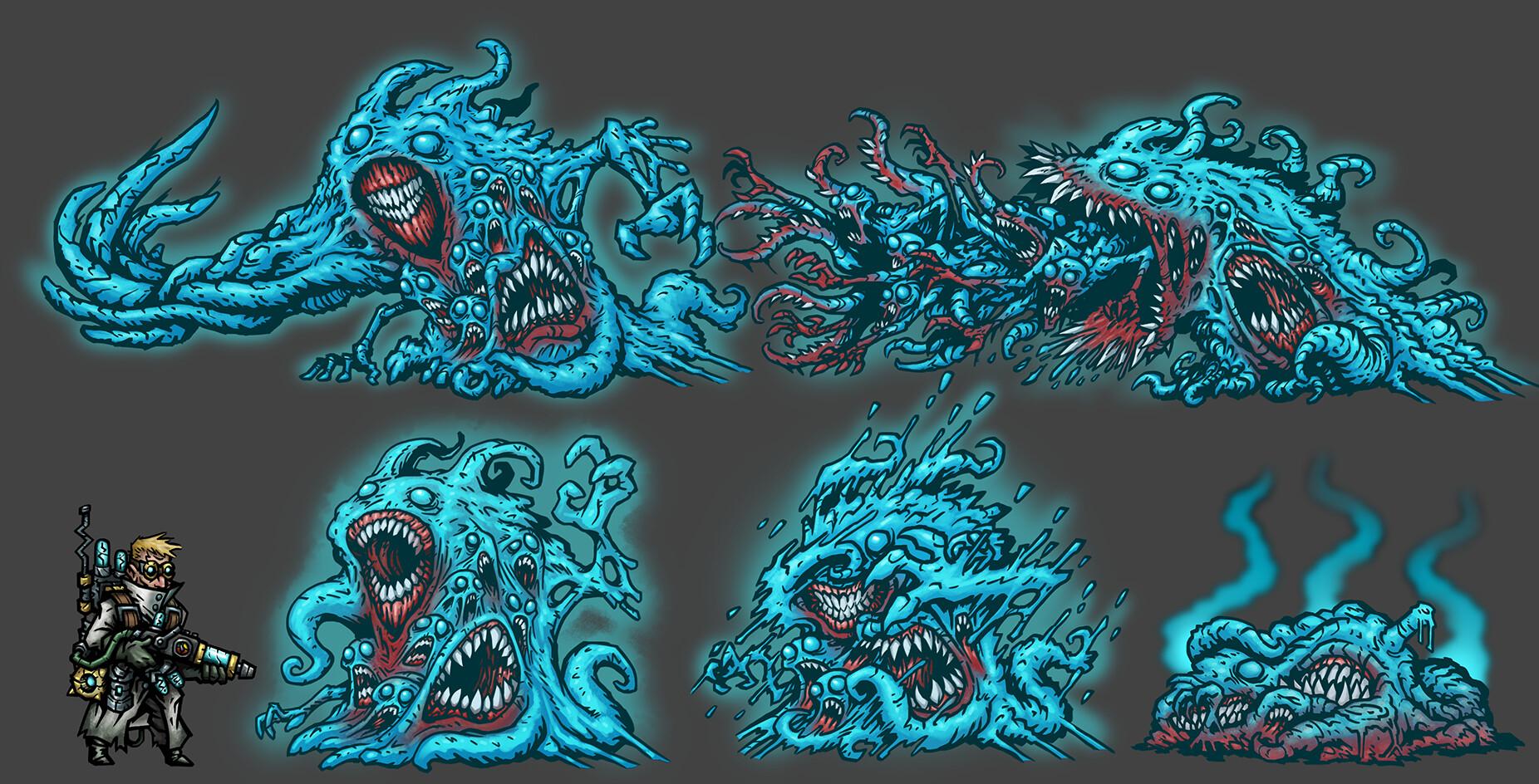 Artstation Beyond Mortality Darkest Dungeon Mod Concept John Yakimow