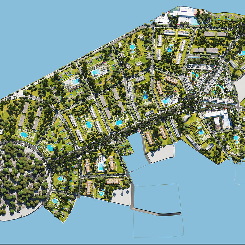 3D MASSIVE RENDER Alicante/2020