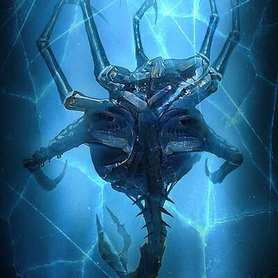 Travis lacey monster specimen frozen creature horror travis lacey web