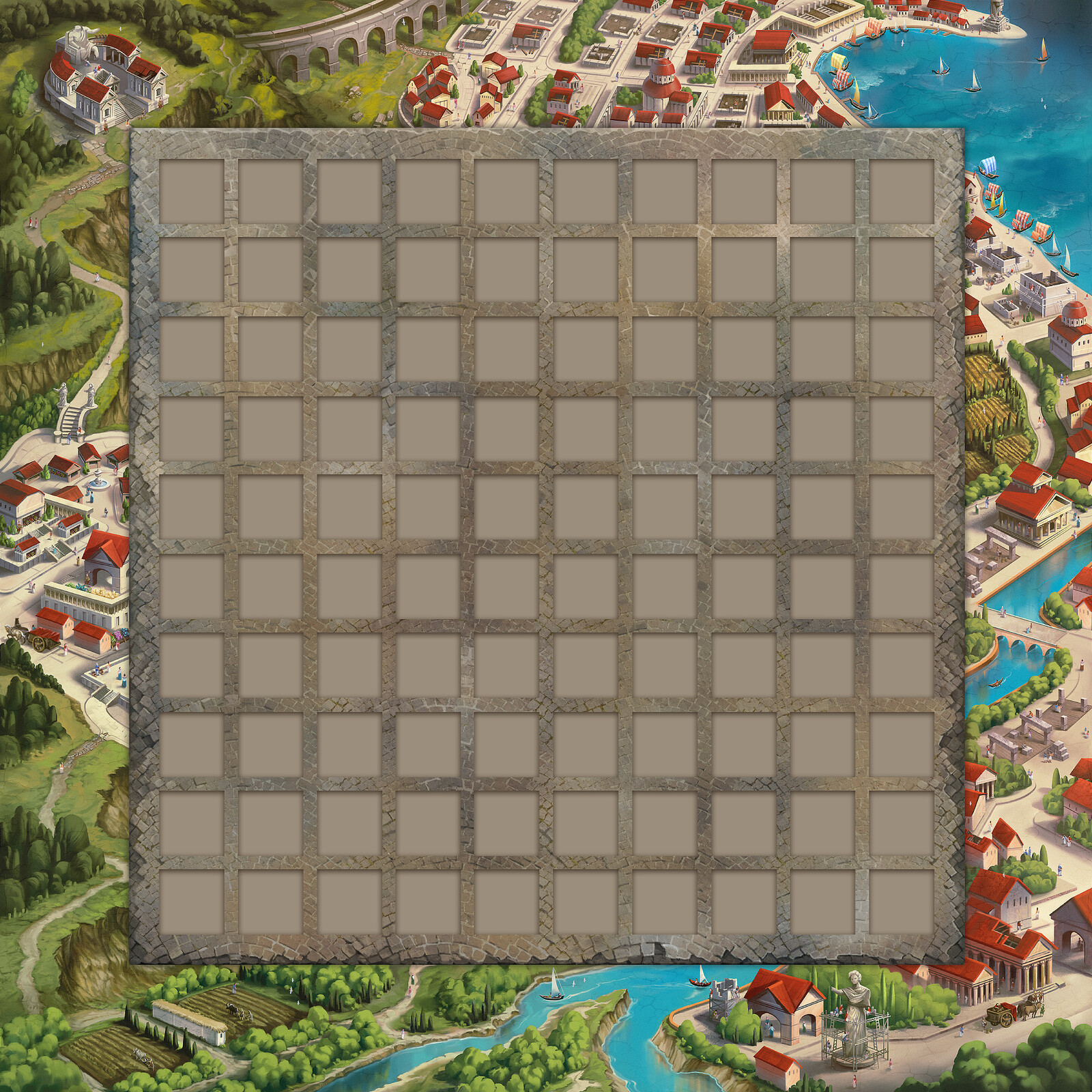 Foundations of Rome Game Board